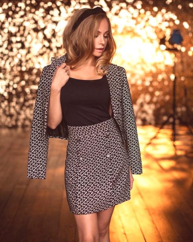 Idéer för brun kjoldräkt