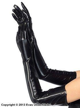 Idéer för långa svarta handskar