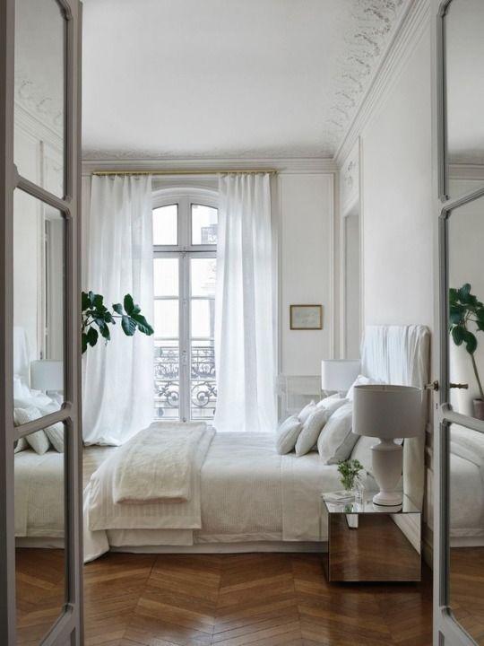 Idéer för parisiska sovrum