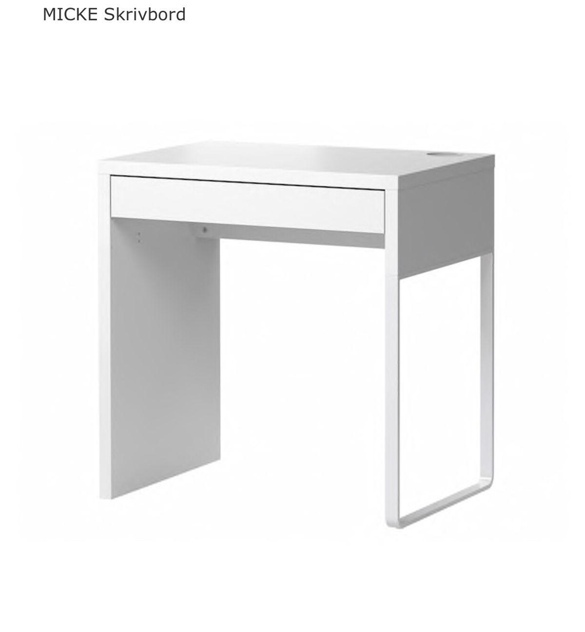 Ikea Micke-skrivbord