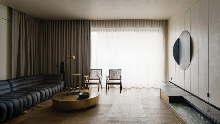 Imperfekt Wabi Sabi-lägenhet