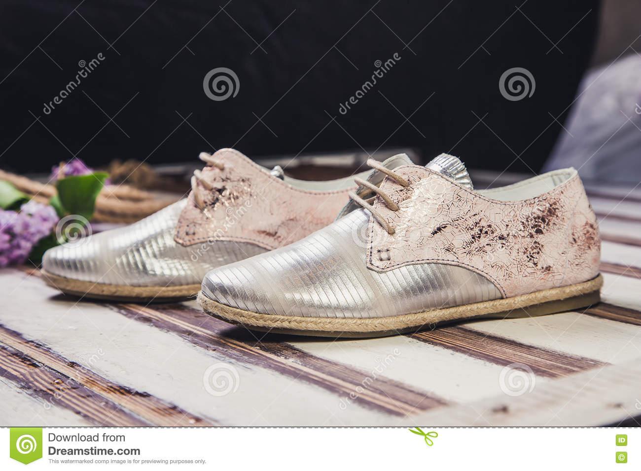 Italienska skor för kvinnor