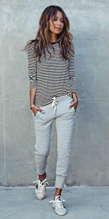 Jogger Jeans Outfit Idéer