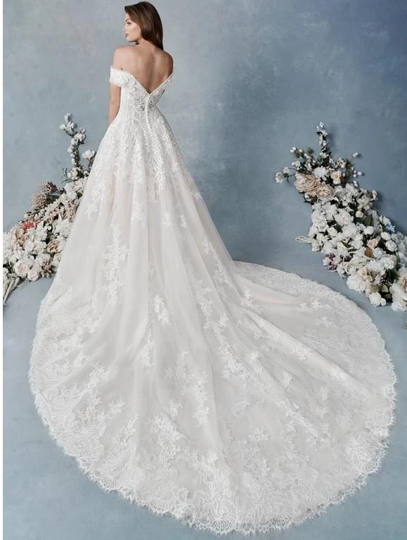 Kenneth Winston bröllopsklänning