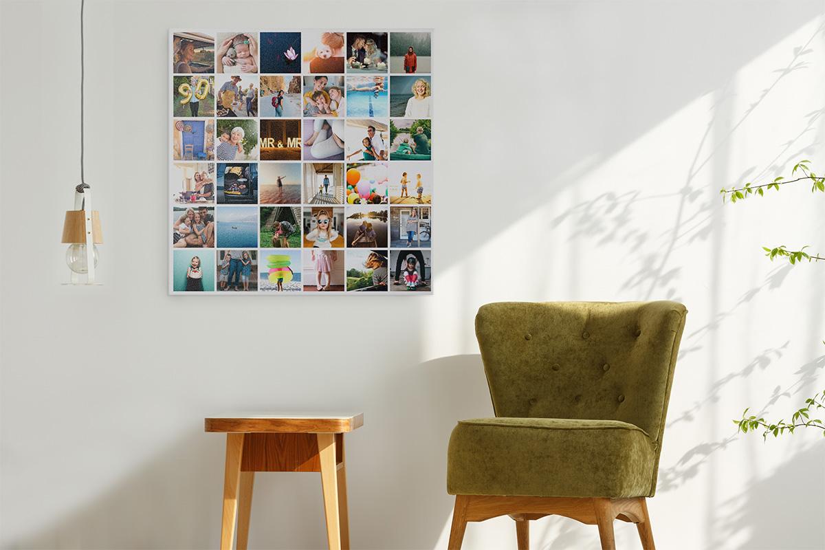Kreativa sätt att visa dina foton på väggarna