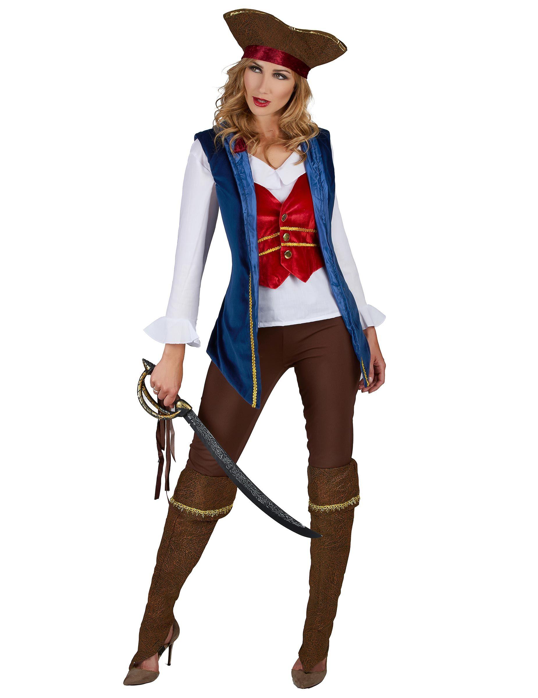 Kvinnors piratdräktsinspirationer