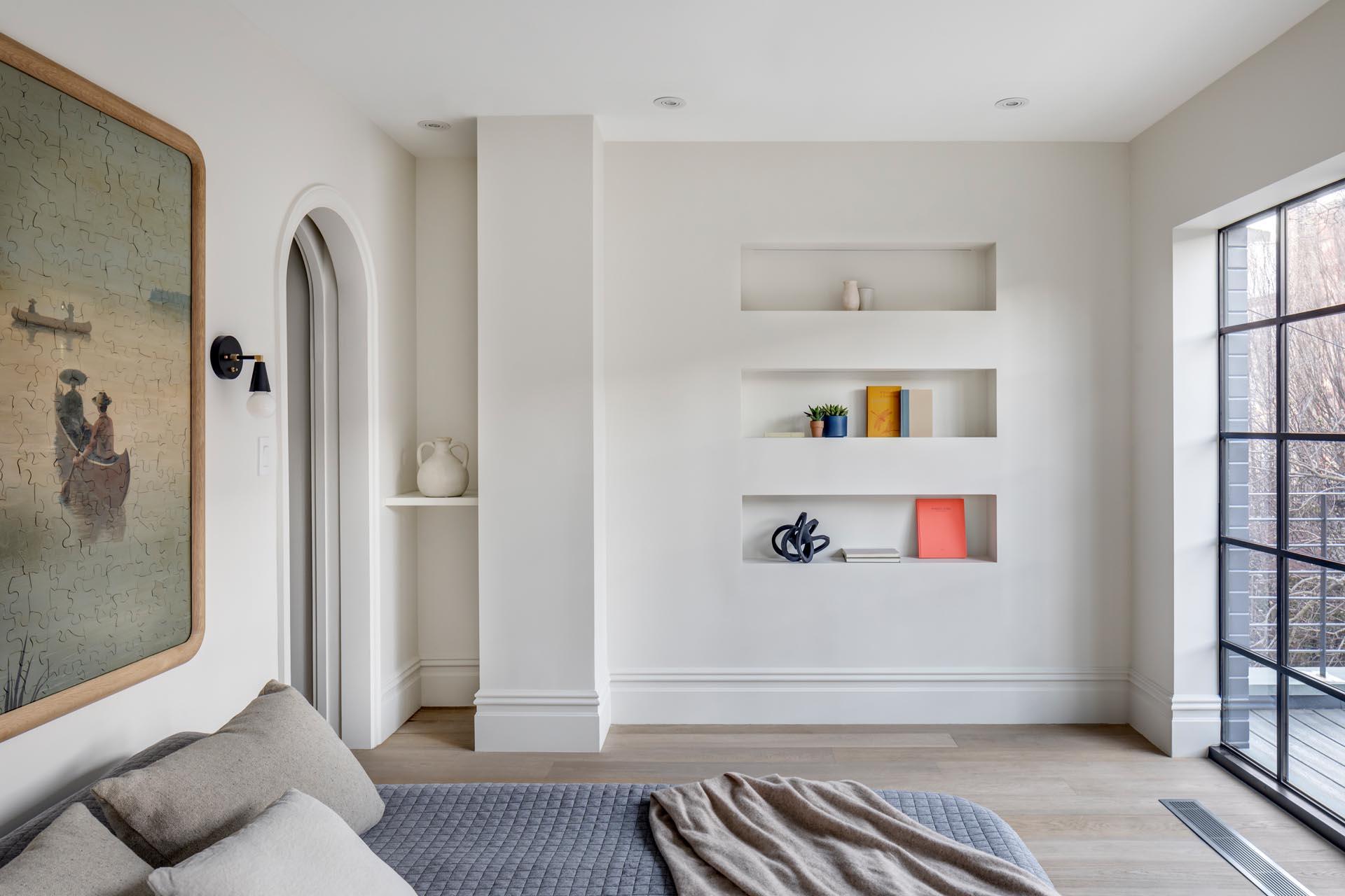 Lägenhet böjt träband