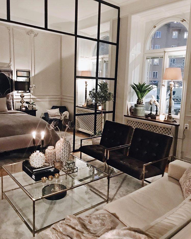Lägenhet med elegant inredning