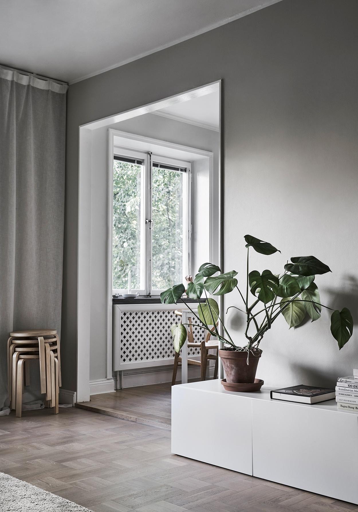 Lägenhet med knäppa detaljer