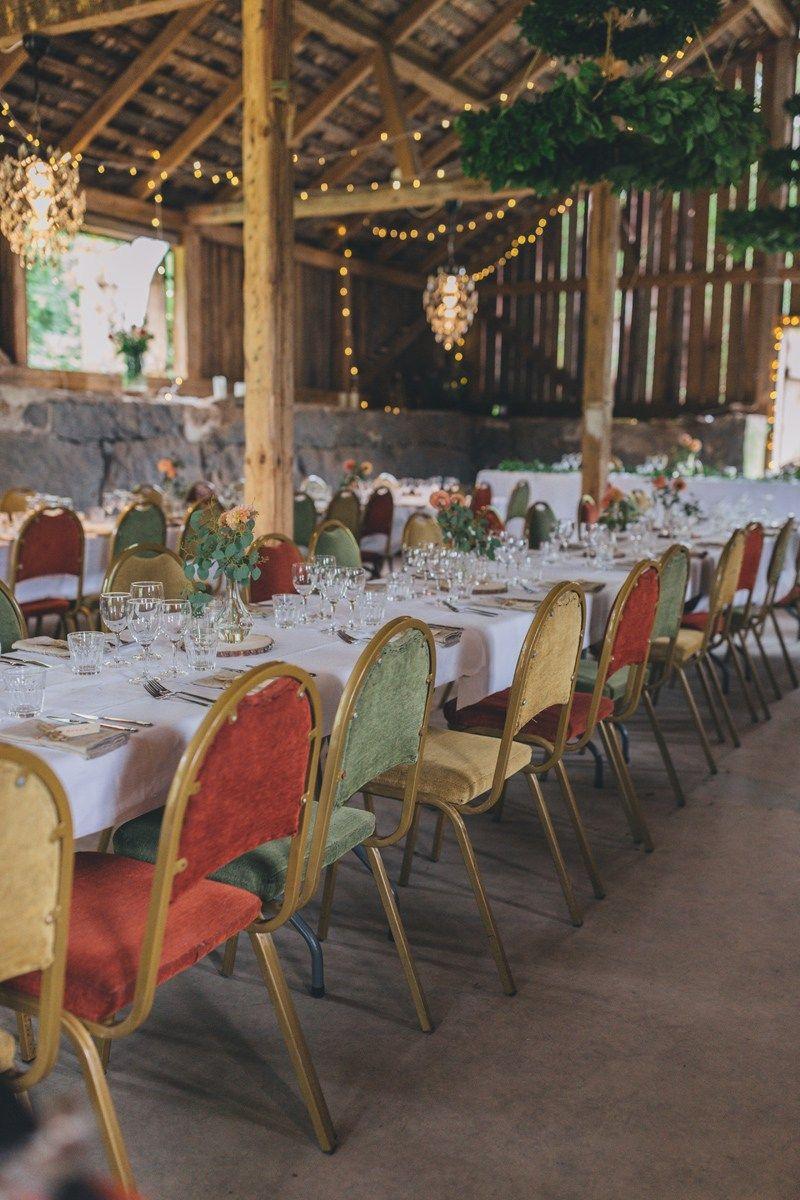 Lantligt elegant färgglatt chic barnbröllop