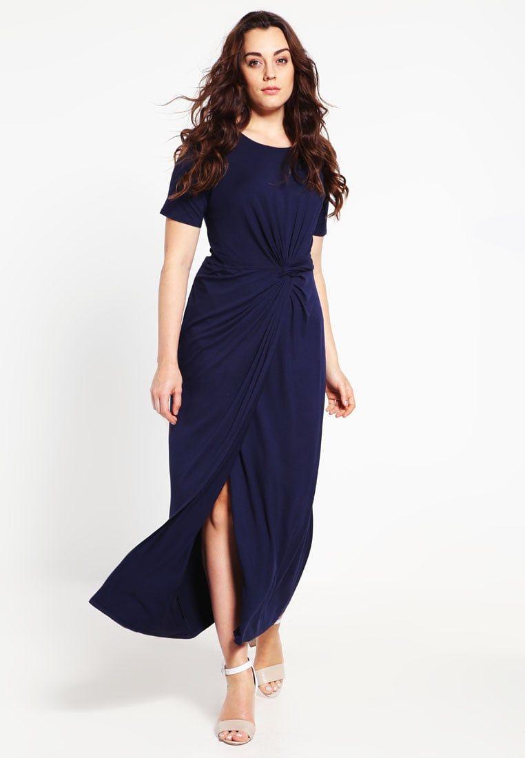 Marinblå klänning Idéer