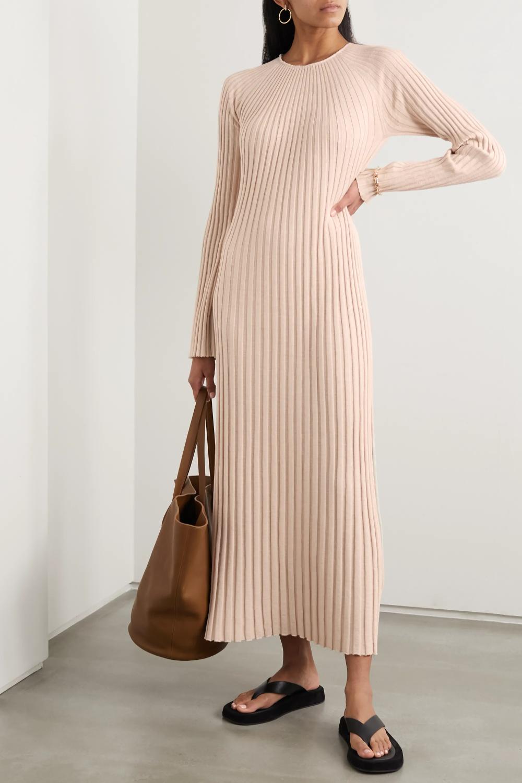 Maxi Cotton Dress Outfit Idéer