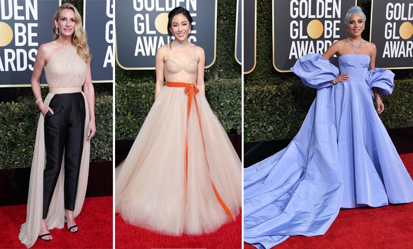 Mest käftande Golden Globe-klänningar
