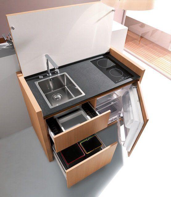 Micro Minimalist Kitchen