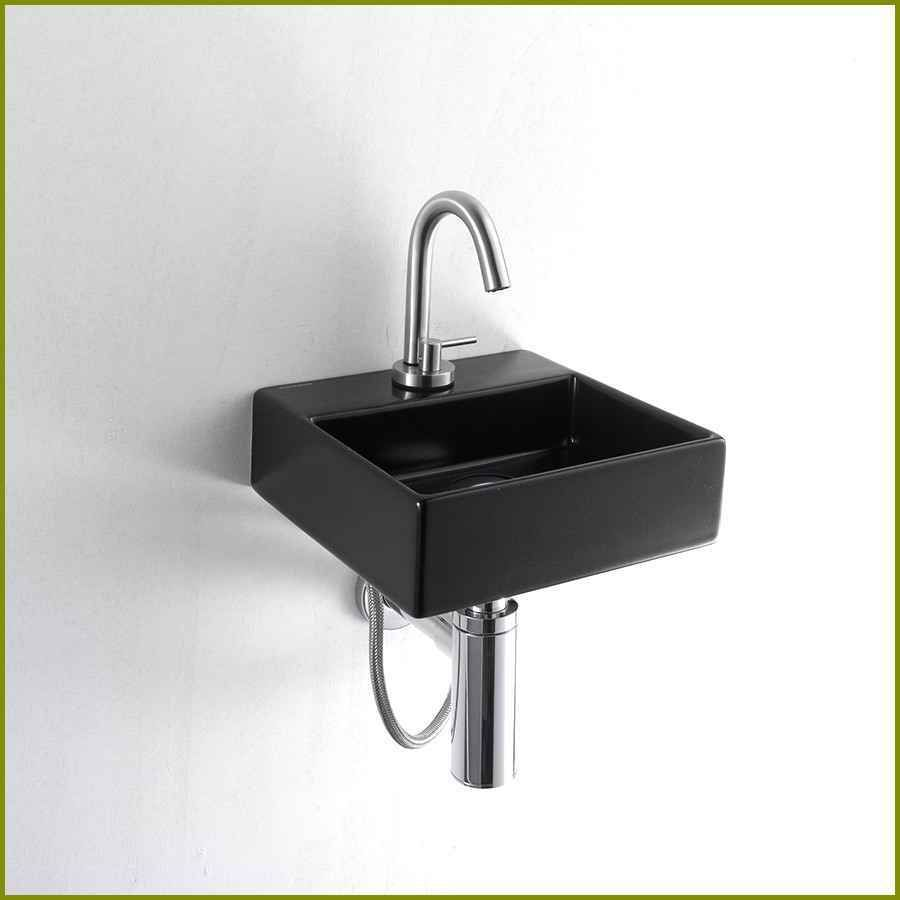Minimalistisk tvättställ för små badrumsregn från Axolo