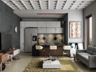 Modern fet lägenhet för en författare
