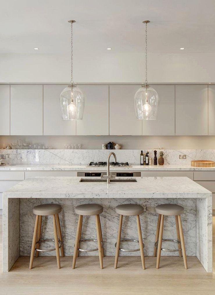 Modern Time Kitchen innehåller linjär estetik
