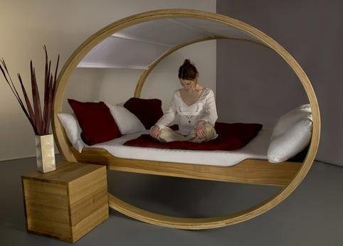 Moderna sängar