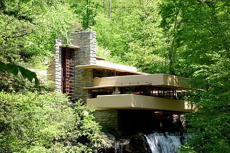 Modernistiskt utformat semesterhus