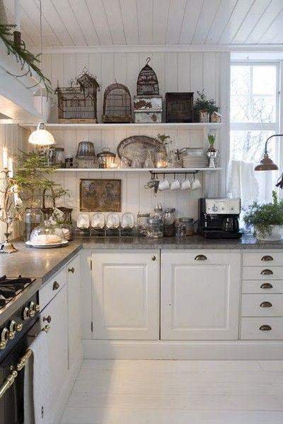 Mysiga Chalet Kitchen Designs för att bli inspirerad