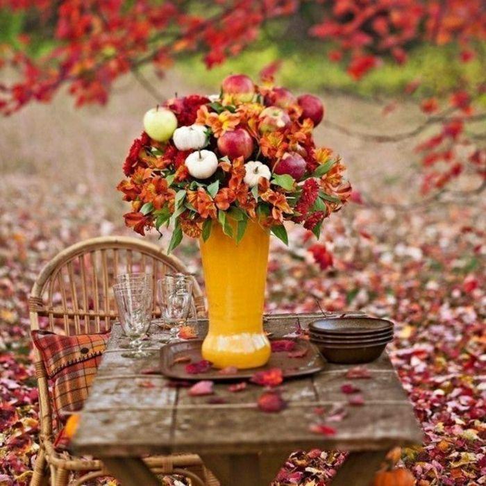 Mysiga vete dekorationer för hösten