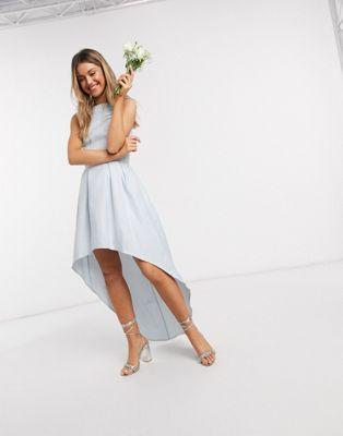 Ojämn brudtärna klänningar