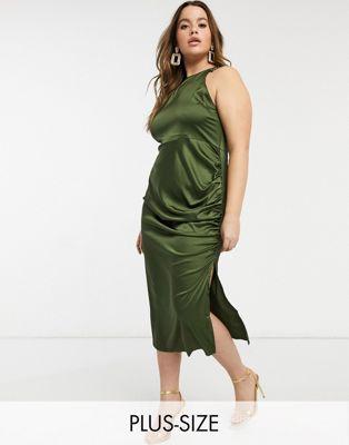 Olivgröna Bodycon-klädesdräkter