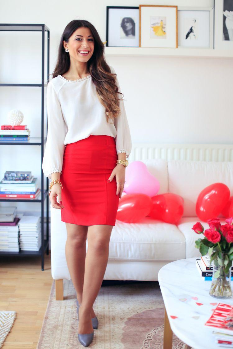 Romantisk Valentine Outfit Inspiration