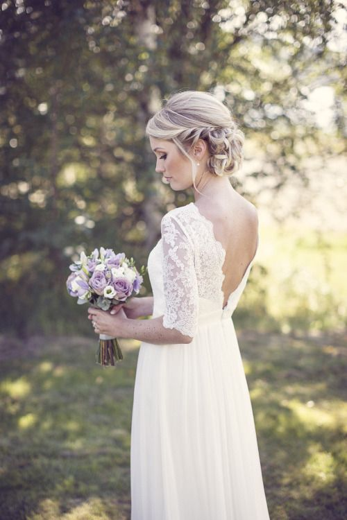 Romantiska bröllopsklänningar