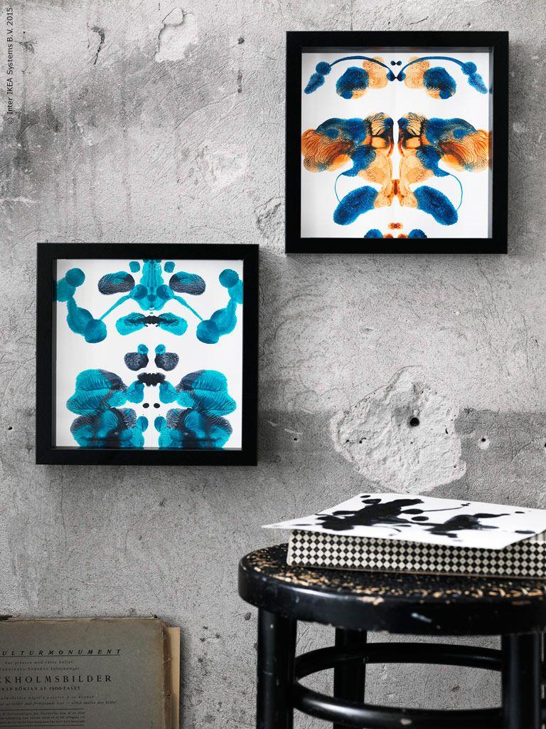 Rorschach inspirerade möbler