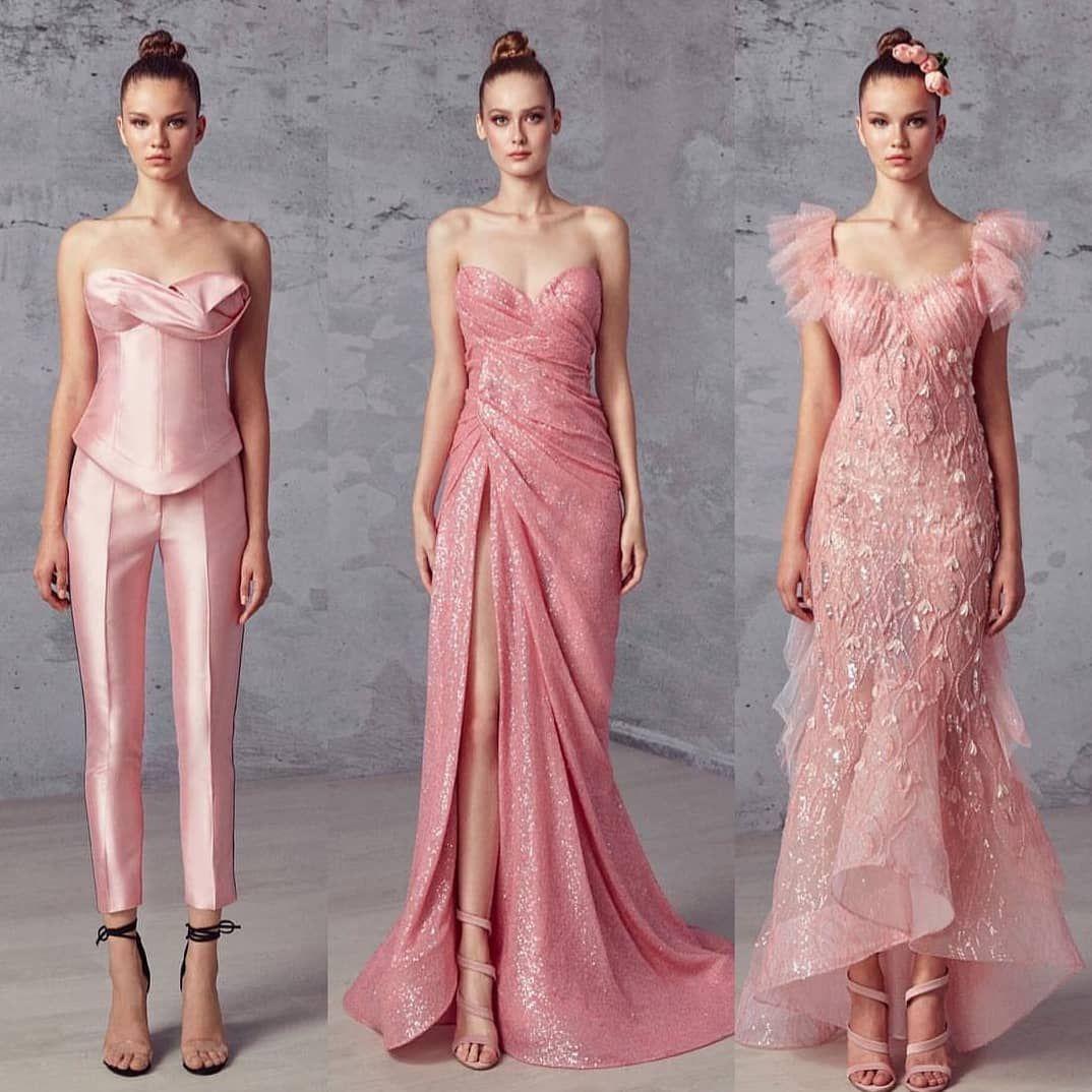 Rosa Satäng Klänning Härliga Chic Outfits