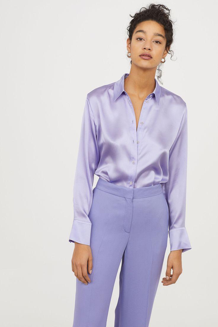 Silkeblus Outfit Idéer