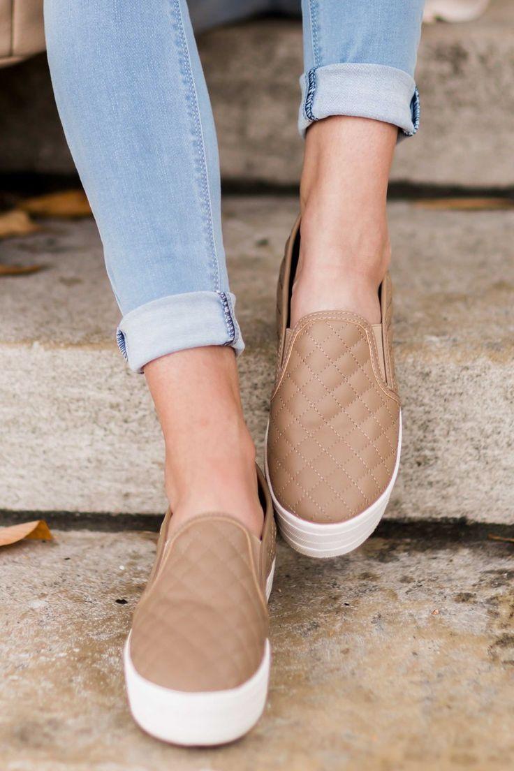 Slip-on skor för damer