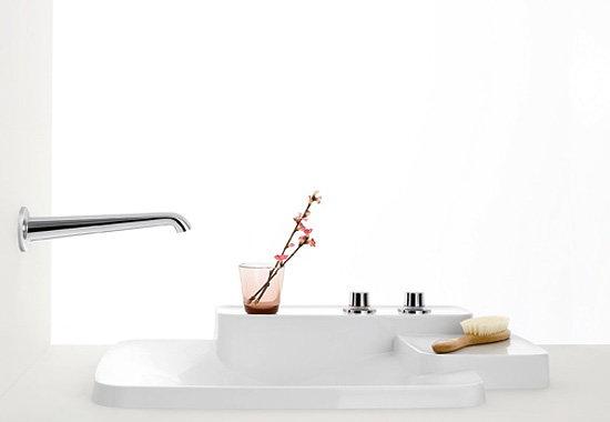 Snygg och flexibel samling av badrumsprodukter Axor Bouroullec