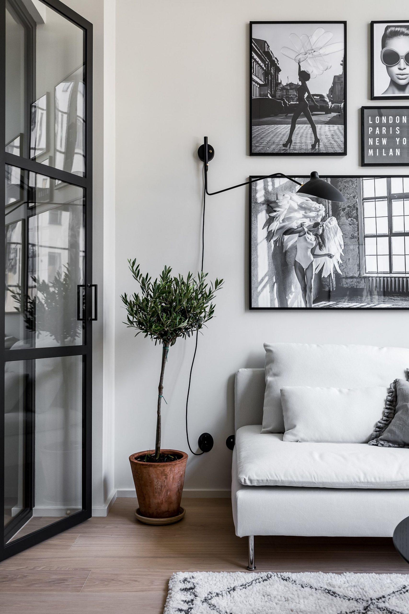 Snygg och original London lägenhet dekor