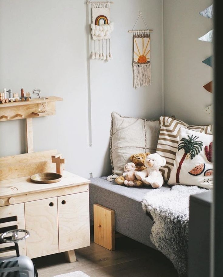 Snygga funktionella barnmöbler