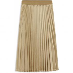 Snygga sätt att bära guld kjol