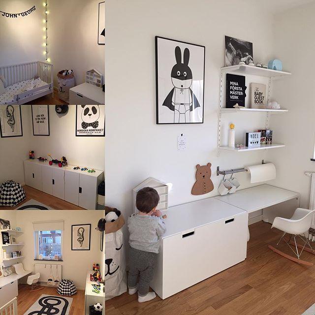 Söta Ikea-avföringsidéer för barnrum