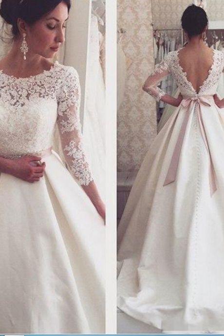 Strandbröllopsklänning
