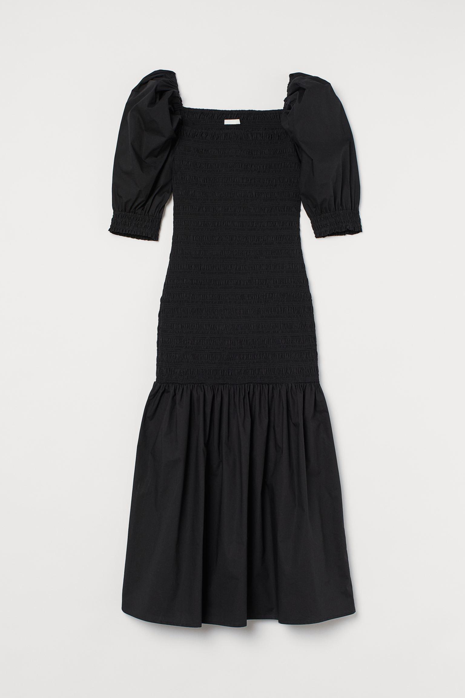 Svarta Midiklänningärmar Klänning Idéer