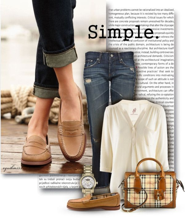 Tan Loafers Outfit Idéer