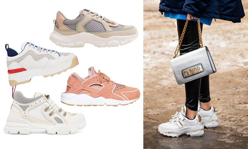 Trendiga sneakers nyår