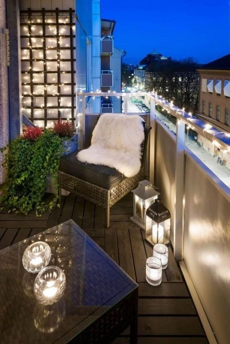 Tropiska uteplats balkongdesigner