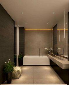Underbara moderna geometriska dekoridéer för badrum