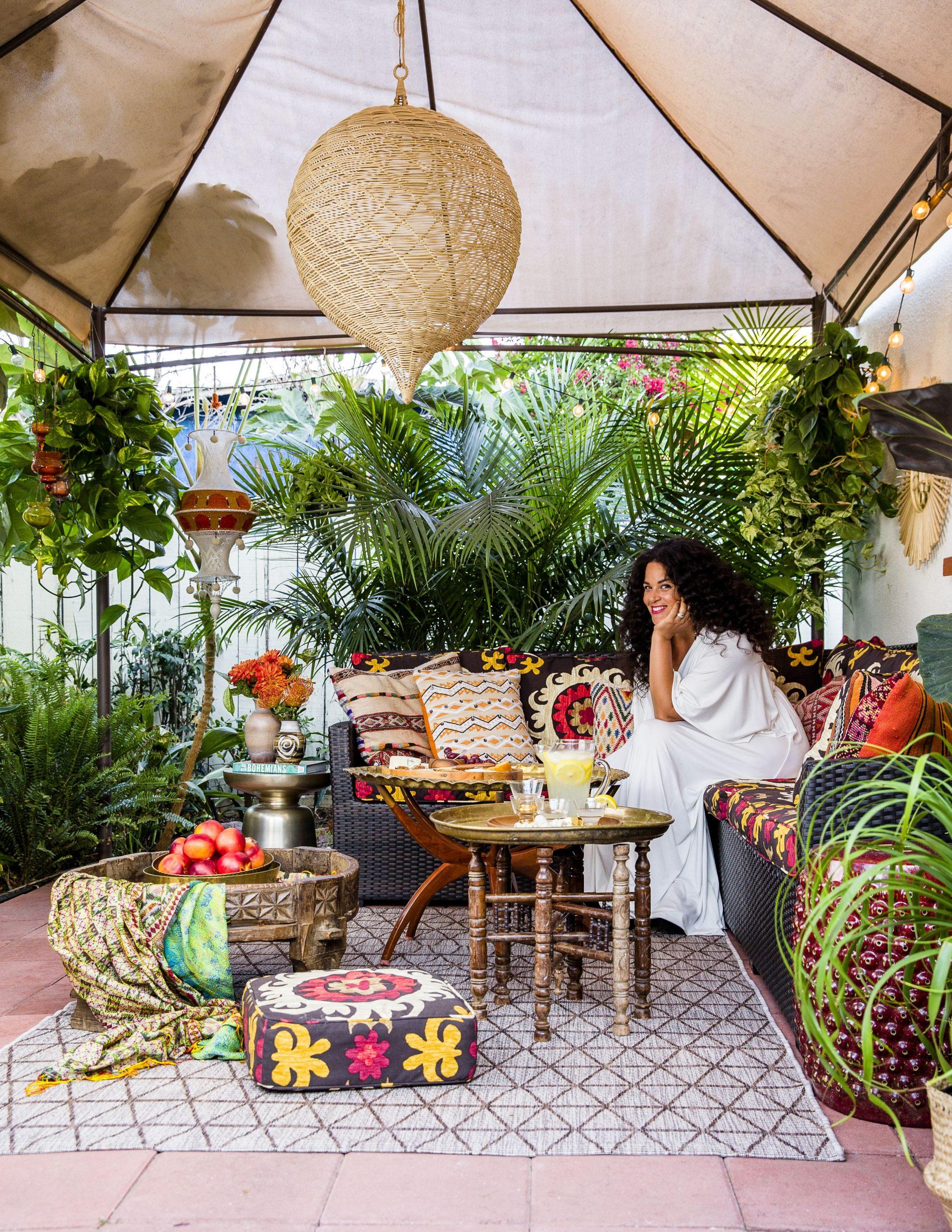 Vackra Bohemian Patio Designs