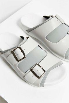 Vita spetsar Sandaler Idéer